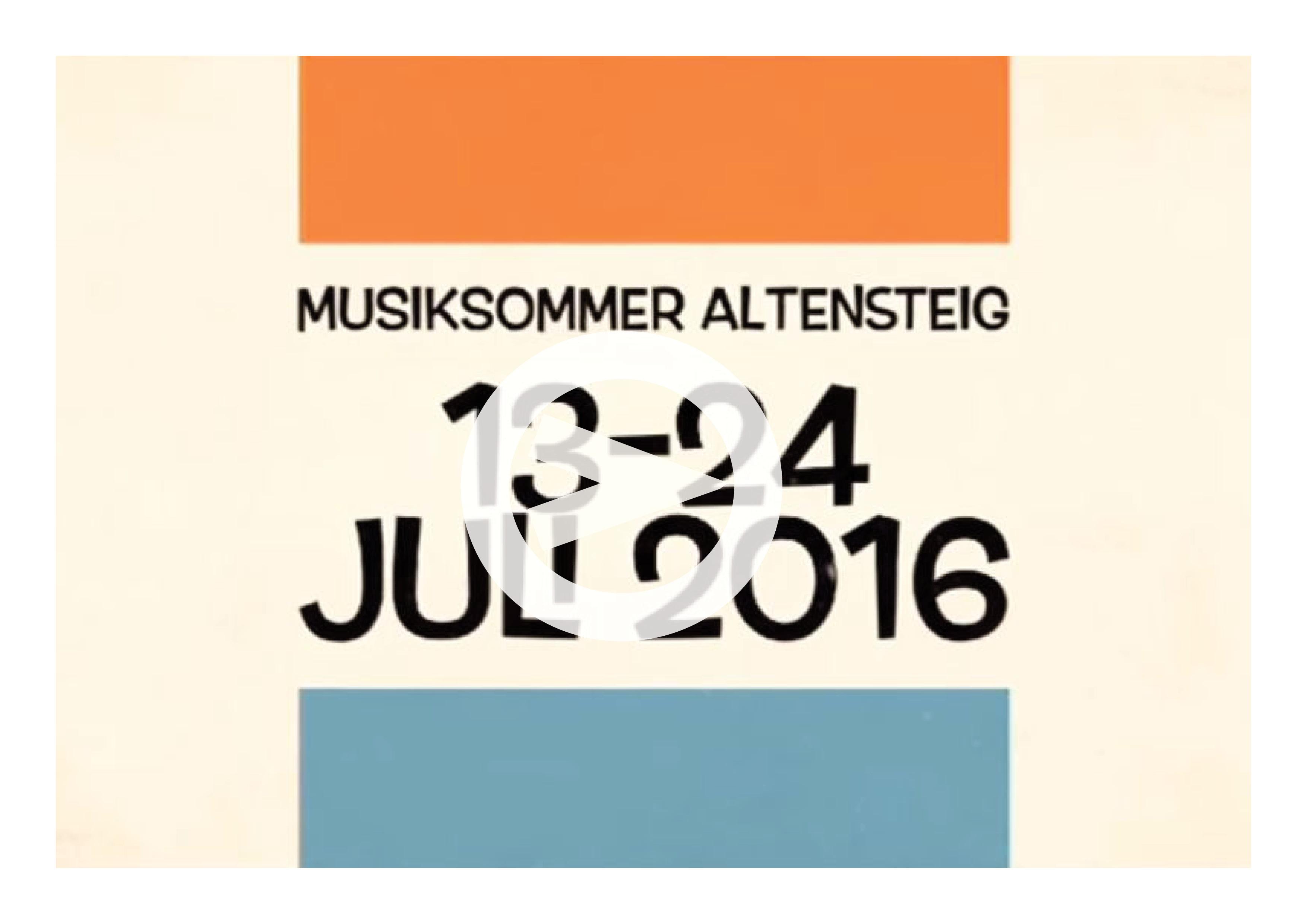 Musiksommer Altensteig 2016