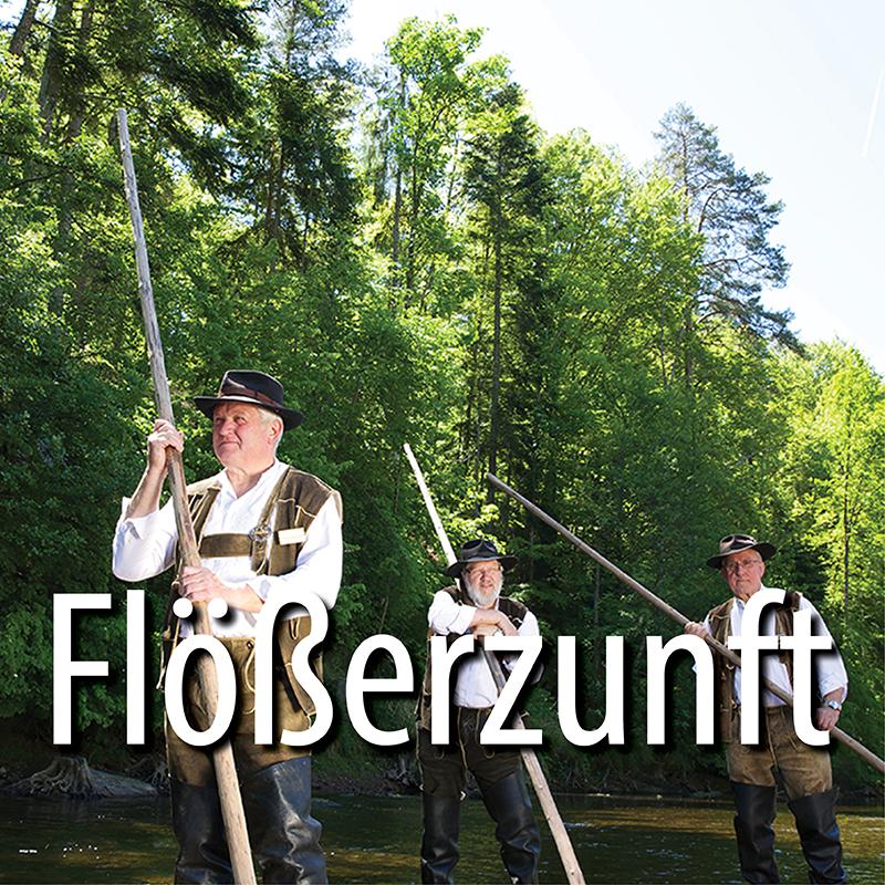 Flösser in Altensteig | Foto Ulrike Klumpp