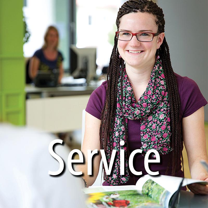 Service | Foto: Ulrike Klumpp