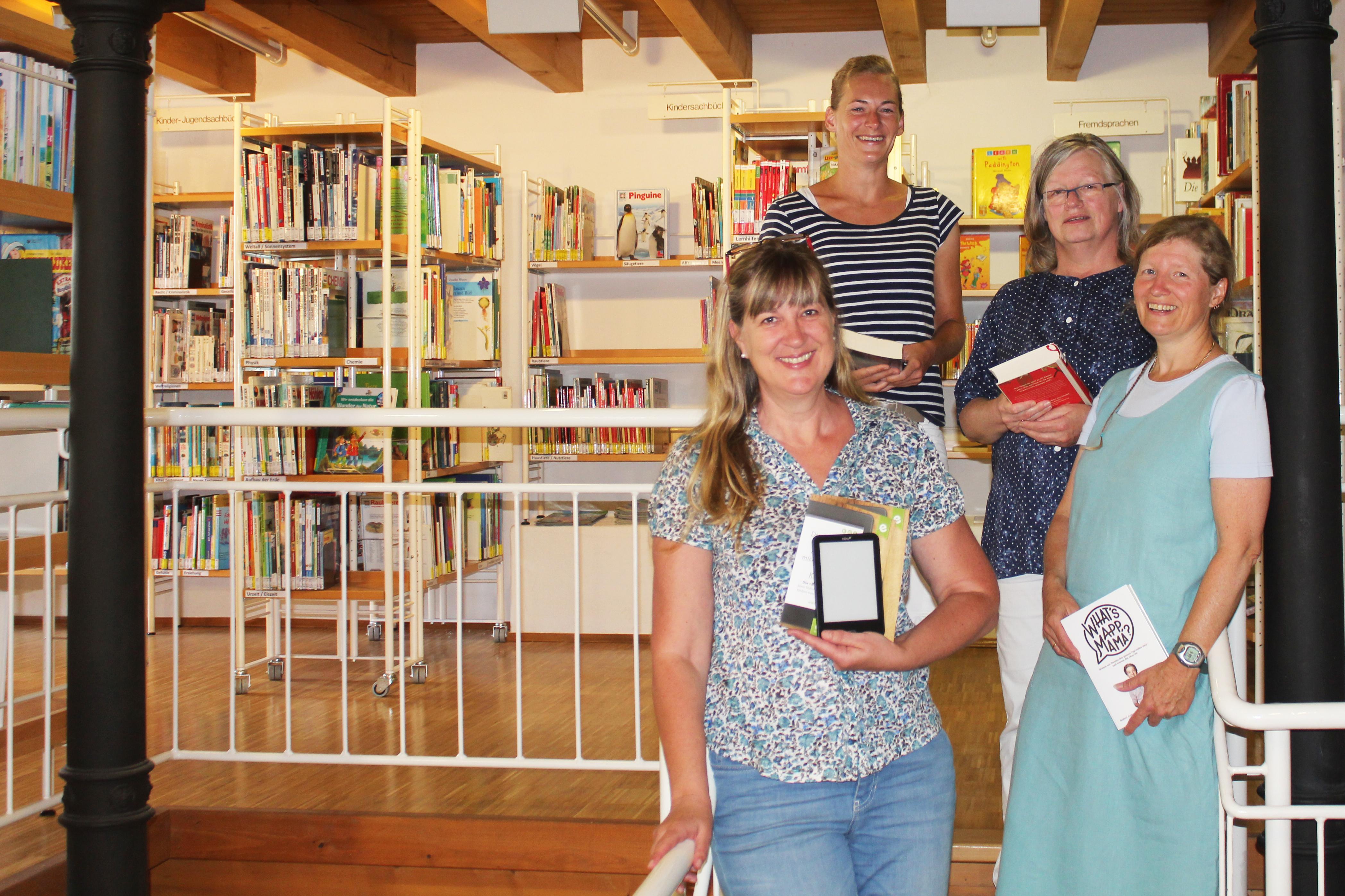 Mitarbeiter der Stadtbücherei