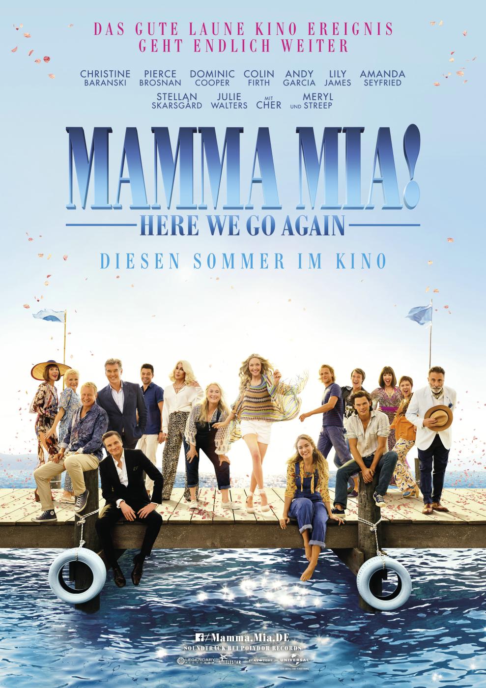 Plakat Mamma Mia