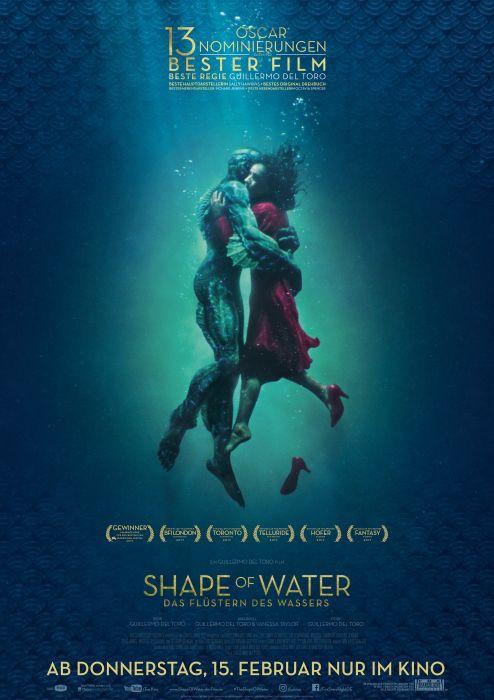 Plakat Shape of Water