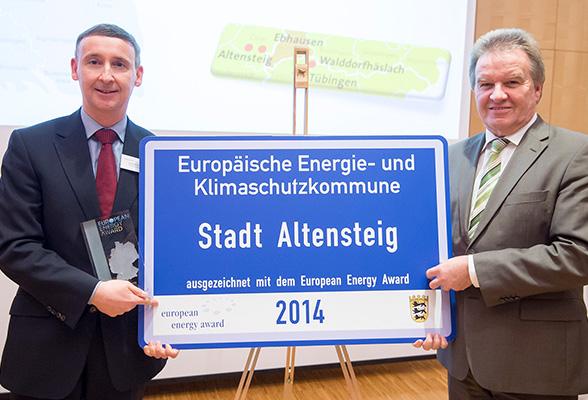 2015-02-26 Altensteig erhält European Energy Award