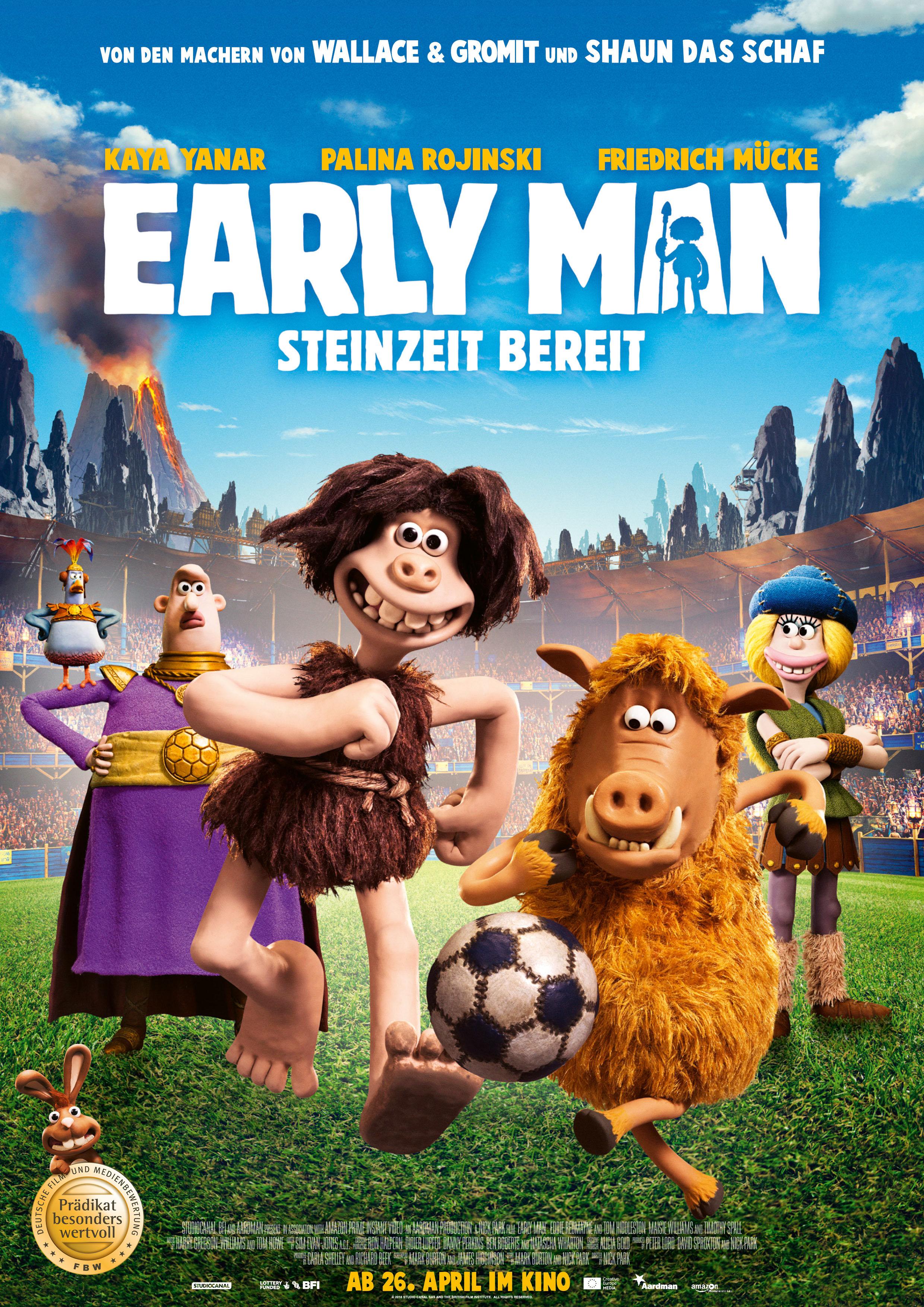 Plakat EarlyMen