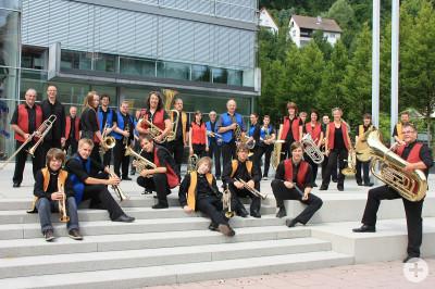 Black-Forest Brassband Gruppenbild
