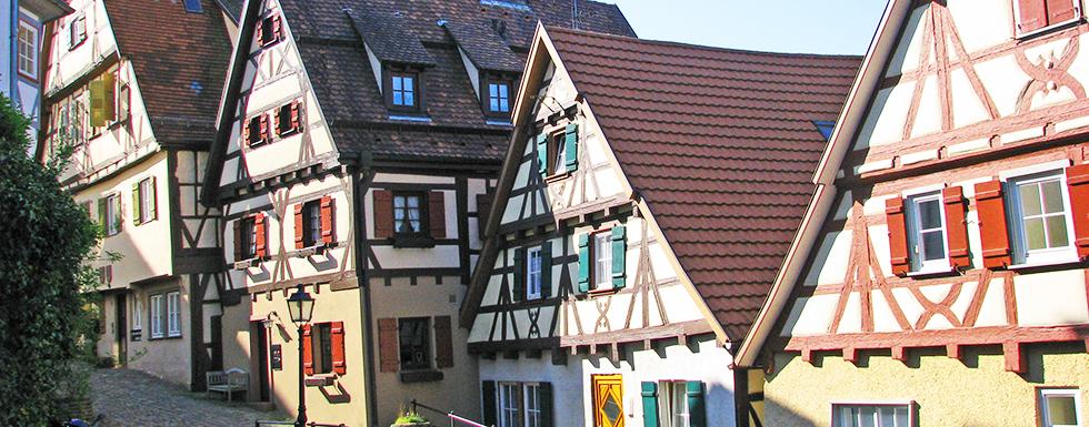 Stadt Altensteig Altensteig Im Nordschwarzwald Fachwerk In