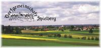 Vereins-Logo mit Ansicht Dorf