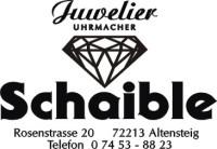 Logo Juwelier Schaible
