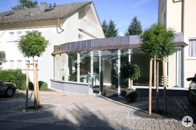 Eingang Klinik Altensteig