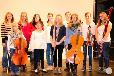 Teilnehmerinnen Jugend musiziert 2013