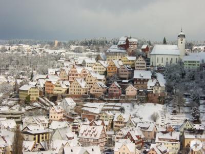 Winterstimmung in Altensteig