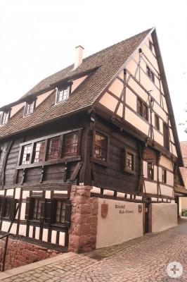 Historische Wirtschaft Bäck Schwarz in der Altstadt
