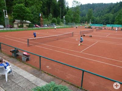Tennisanlage im Oberen Tal