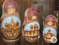 Weihnachtsausstellung Altensteig Matrjoschka aus Russland