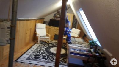 Spitzbodenzimmer