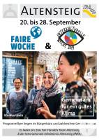 Plakat Faire und Interkulturelle Woche