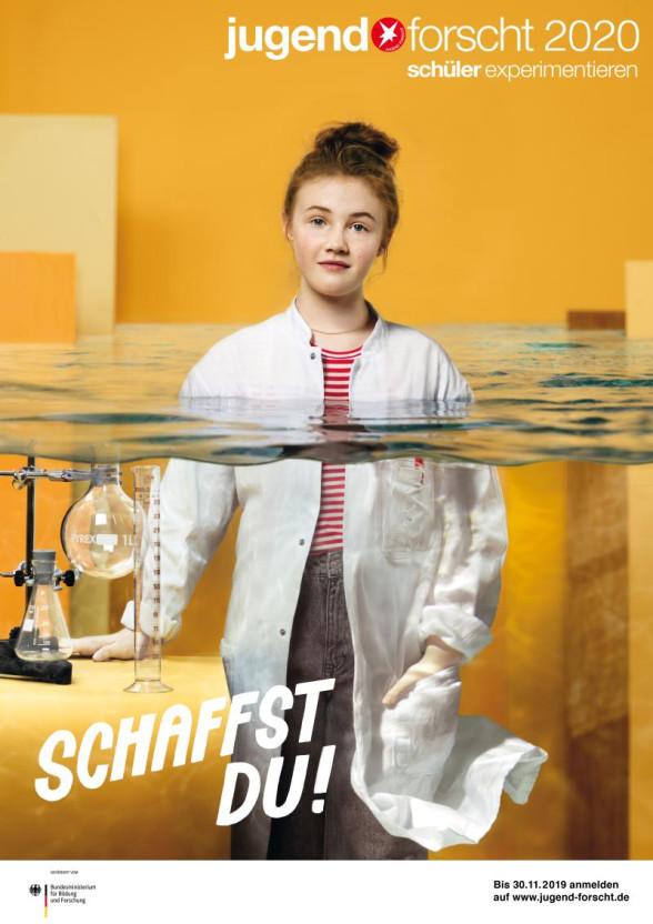 Plakat Jugend forscht 2020