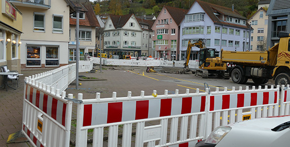 Umbau Marktplatz