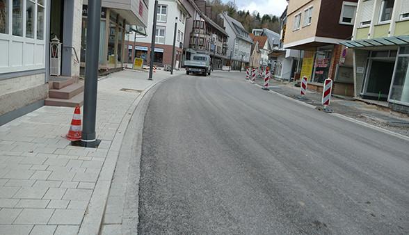 Poststraße asphaltiert