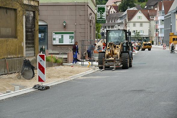 Poststraße wird gepflastert