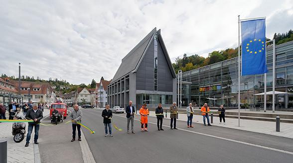 Offizielle Verkehrsfreigabe Poststraße