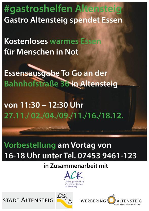 Flyer gastroshelfen Altensteig
