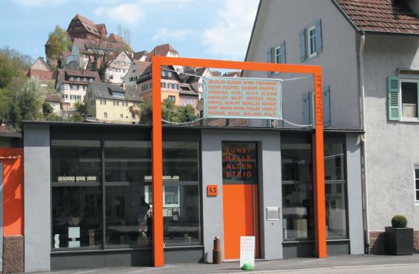 Eingang Kunsthalle Altensteig