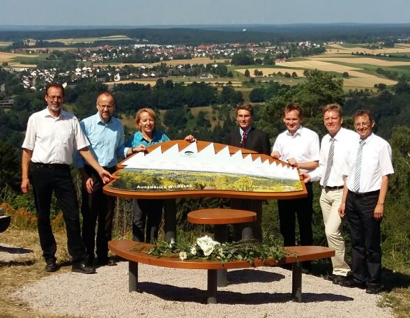 Fünf neue Naturpark-AugenBlicke eröffnet