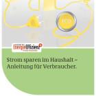 Broschüre Strom sparen im Haushalt