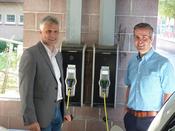 Elektro-Tankstellen in Altensteig