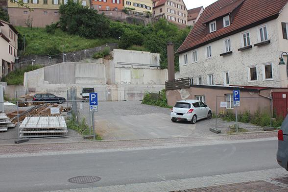 Parkplatz Gemeindehaus