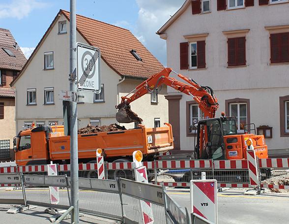 Postplatz Umbau